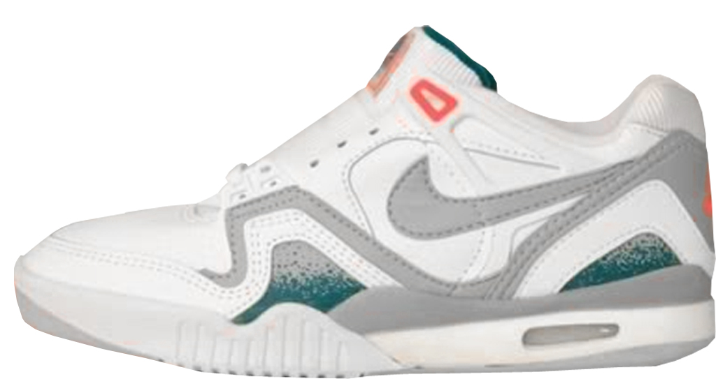 premium selection 7528e 0411d Nike Air Tech Challenge II Low 7283 White White-Hot Lime-Zane Grey