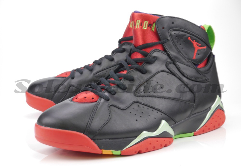 506b9145ce378e Here s Marvin the Martian s Air Jordan 7 On-Foot
