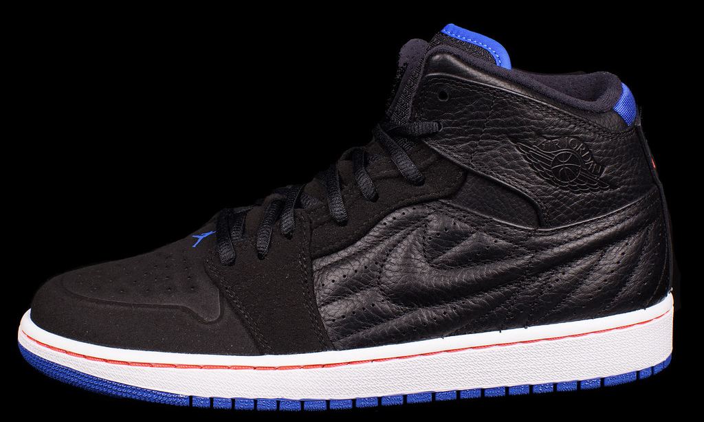 Another Look At The Air Jordan 1 Retro  99 Black Sport Blue-Infrared ... 8da0b14c2b