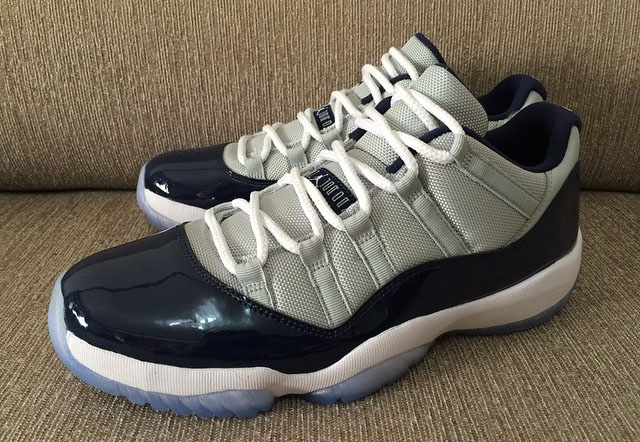 Air Jordan XI 11 Low Georgetown 528895-007 (10)