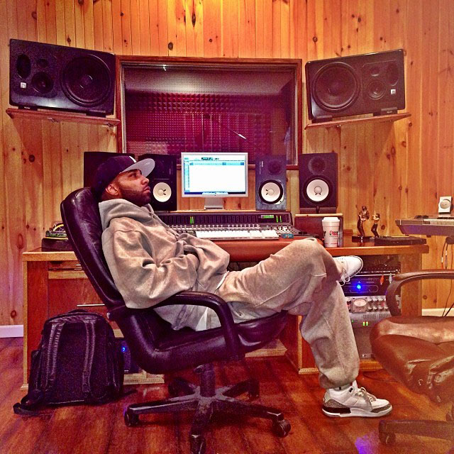 Joe Budden wearing Air Jordan 3 Cement