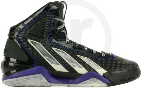 adidas adiPower Howard 3 Black/Running White-Collegiate Purple