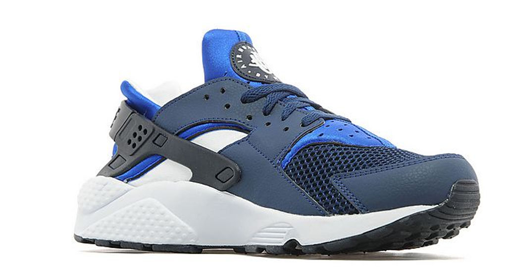 The \u0027Obsidian/Game Royal\u0027 Nike Air Huarache is available now exclusively at  JD