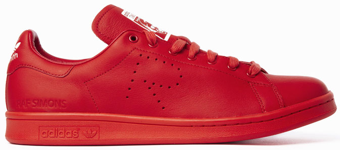 sneaker stan smith rosse