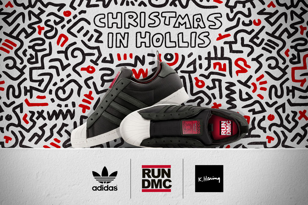 aliexpress crazy price factory price Keith Haring x RUN DMC x adidas Originals Superstar 80s ...