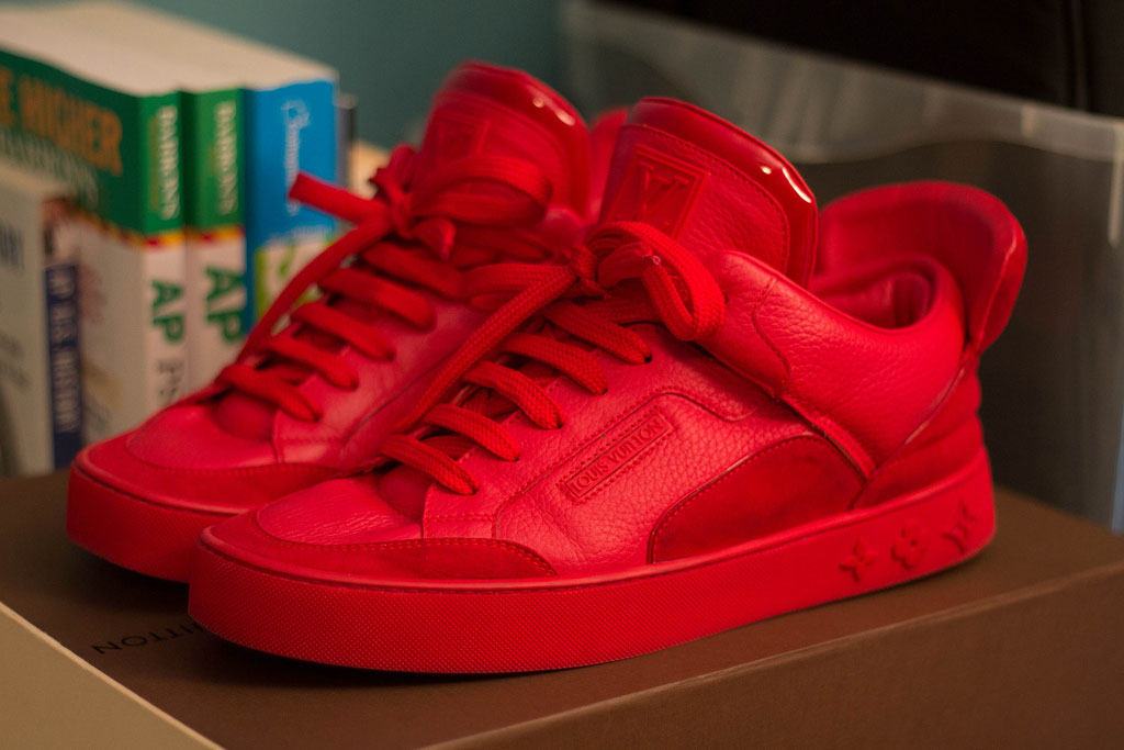 Kanye West Louis Vuitton Don Red