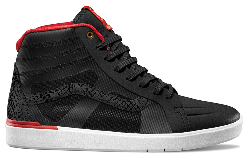 Vans LXVI Python Pack - Parameter in Black/Red