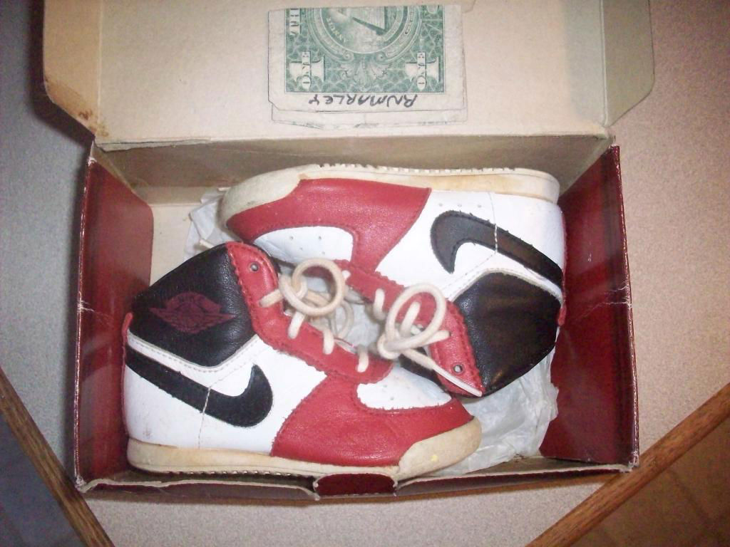 Pickups of the Week // 4.7.13 - Air Jordan I 1 OG Baby by rnmarley45