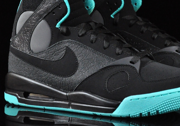 premium selection e8b8f cc5b1 Nike Air PR1 Black Black Dark Grey 414974-004