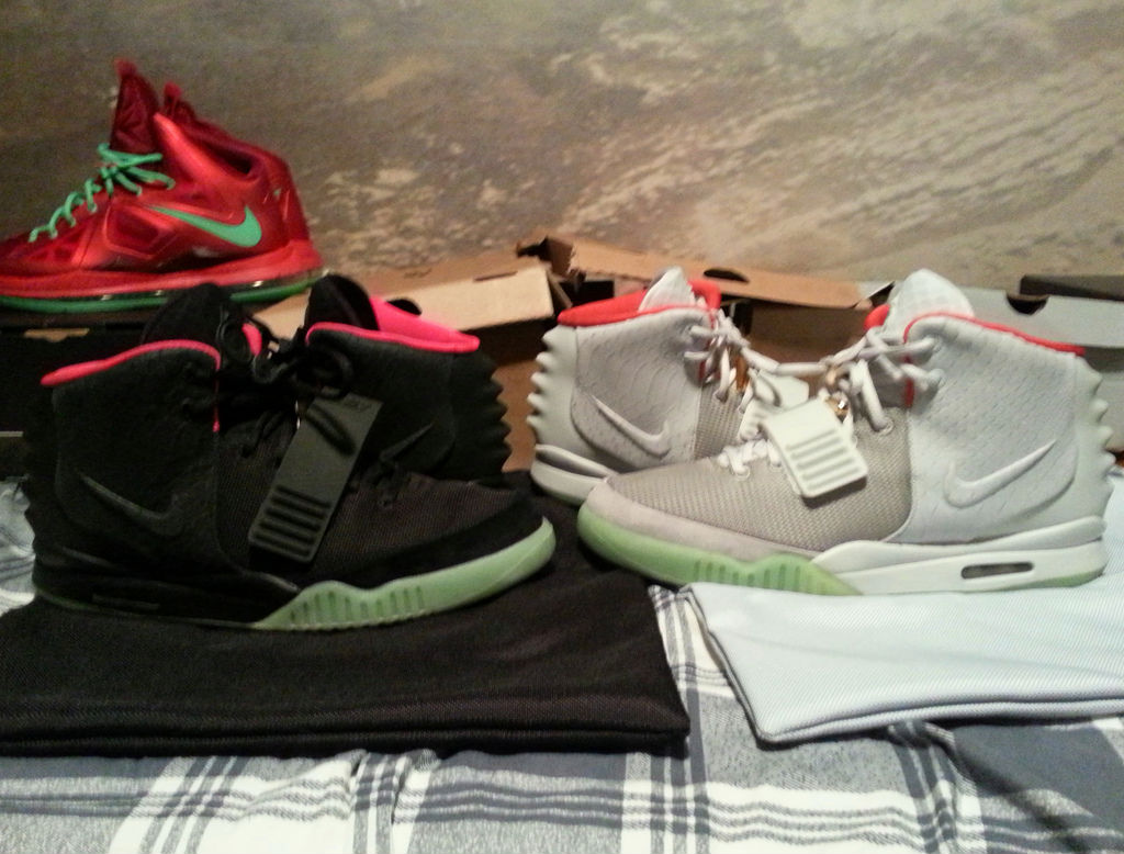 Spotlight // Pickups of the Week 1.5.13 - Nike Air Yeezy 2 II Black Solar Red Platinum by miller23time