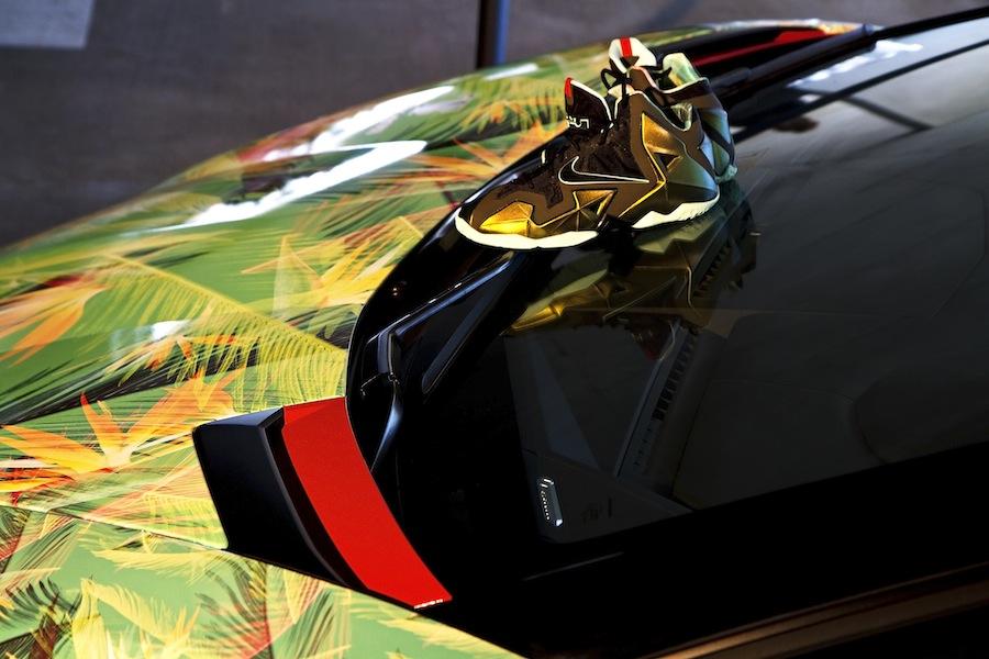 Lamborghini Aventador Roadster >> Exclusive Look at The LeBron James 'King's Pride ...