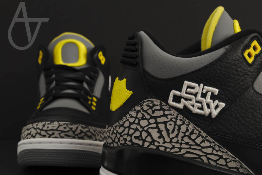Air Jordan Retro 3 - Oregon Ducks Pit Crew Away (12)