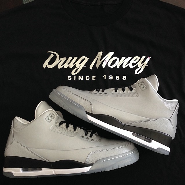 Fat Joe Picks Up Air Jordan 3 Retro 5Lab3