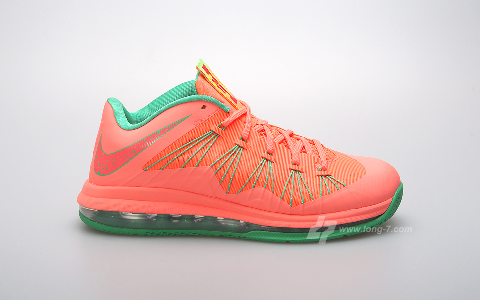 "6b8f540e4ab1 Nike Air Max LeBron X Low ""Watermelon"" – Foot Locker Blog"