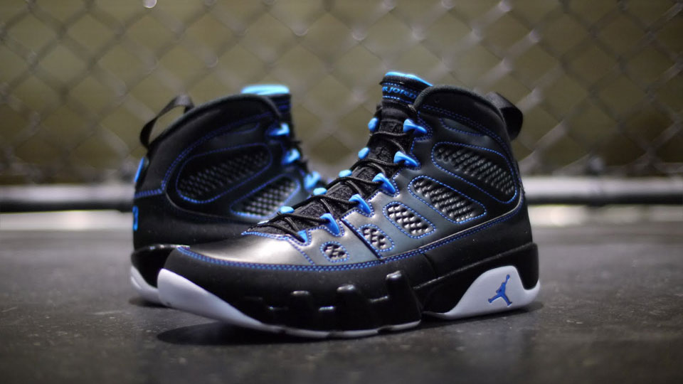 new york f1916 a6eed Air Jordan Retro 9 - Photo Blue - Detailed Images | Sole ...