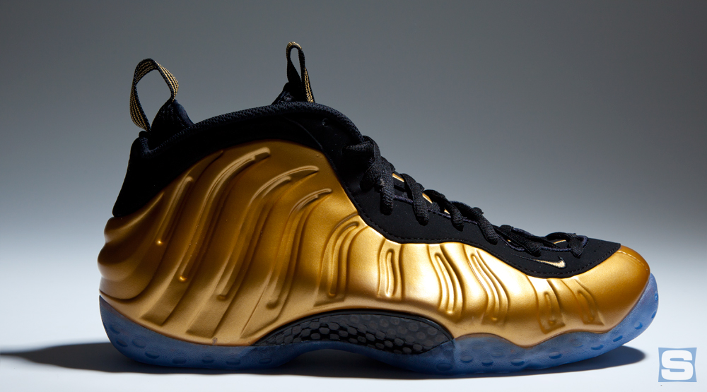 Nike Foamposite Gold
