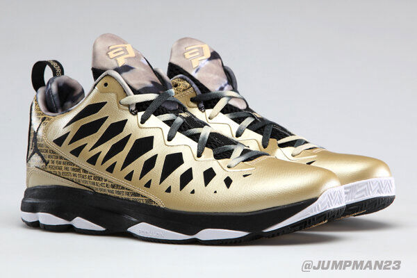 gold cp3 shoes