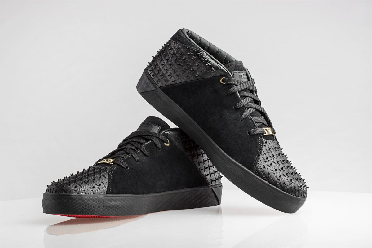 b6d3f406fb5a2 Nike LeBron 12 NSW Lifestyle Black Red Images via Kicks USA