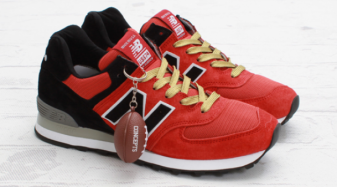 New Balance Red And Black
