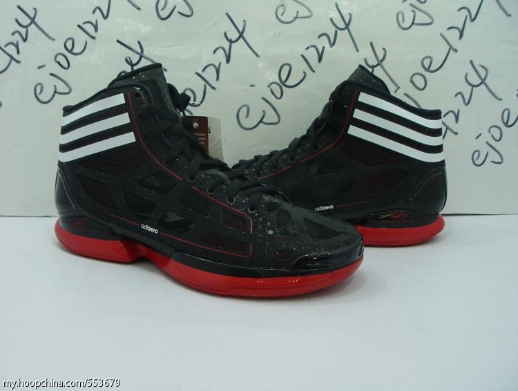 95e81e2d651f adidas adiZero Crazy Light - Black White Red - Detailed Images ...