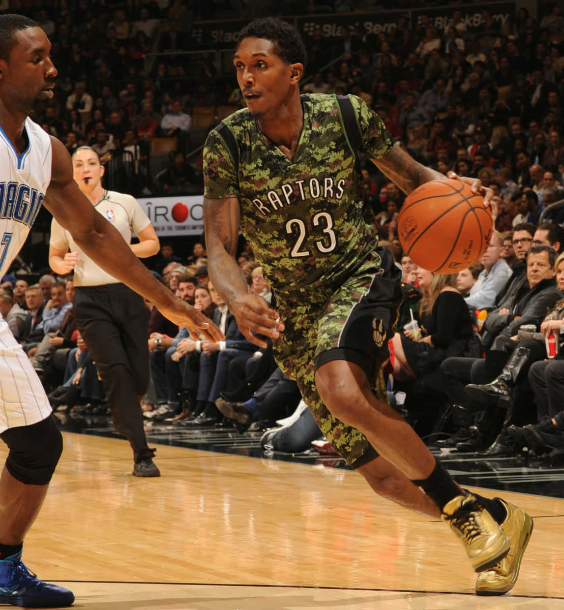 Lou Williams Wears the 'OVO' Air Jordan 3 En Route to 2014-2015 Sixth Man of the Year Award