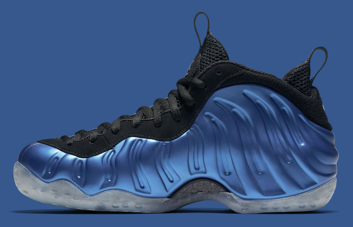 Nike Air Foamposite One Royal 2016 Medial 895320-500