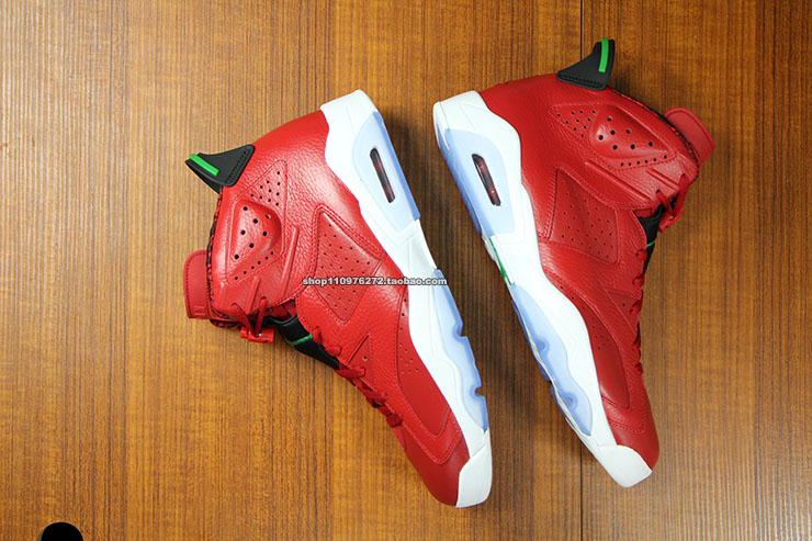 Air Jordan VI 6 Red History of Air Jordan 694091-625 (5)