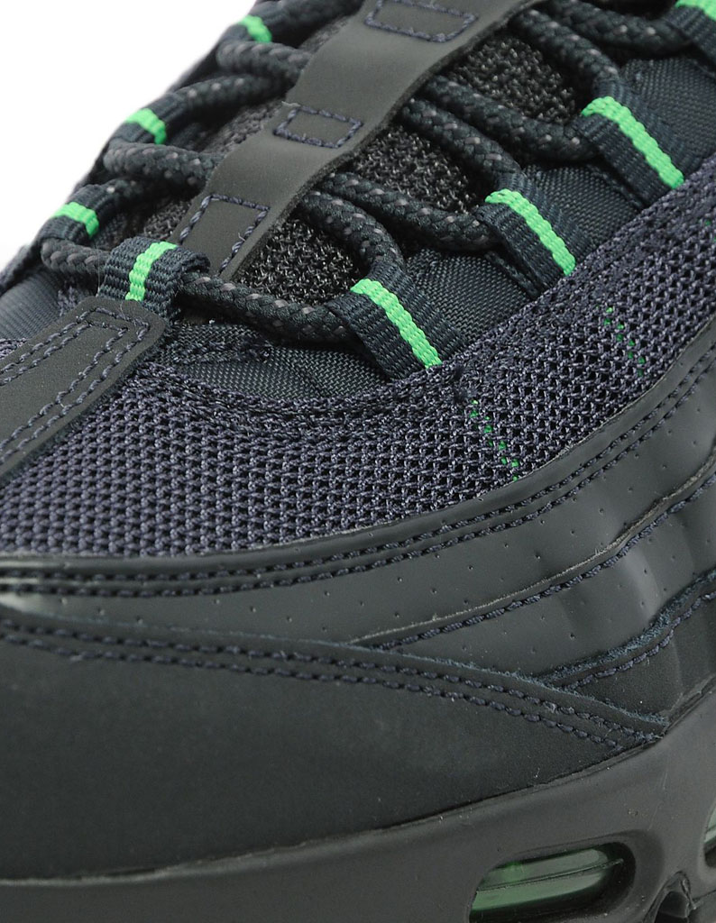half off 8f1a3 ca81c Nike Air Max 95 Black Green JD Sports Exclusive (4)