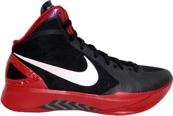 sports shoes fb280 93a9d Nike Hyperdunk 2011 TB Black White Varsity Red Metallic Silver 454143-004