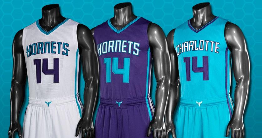 e1d080c3d805 Charlotte Hornets Unveil New Uniforms for 2014-2015 Season