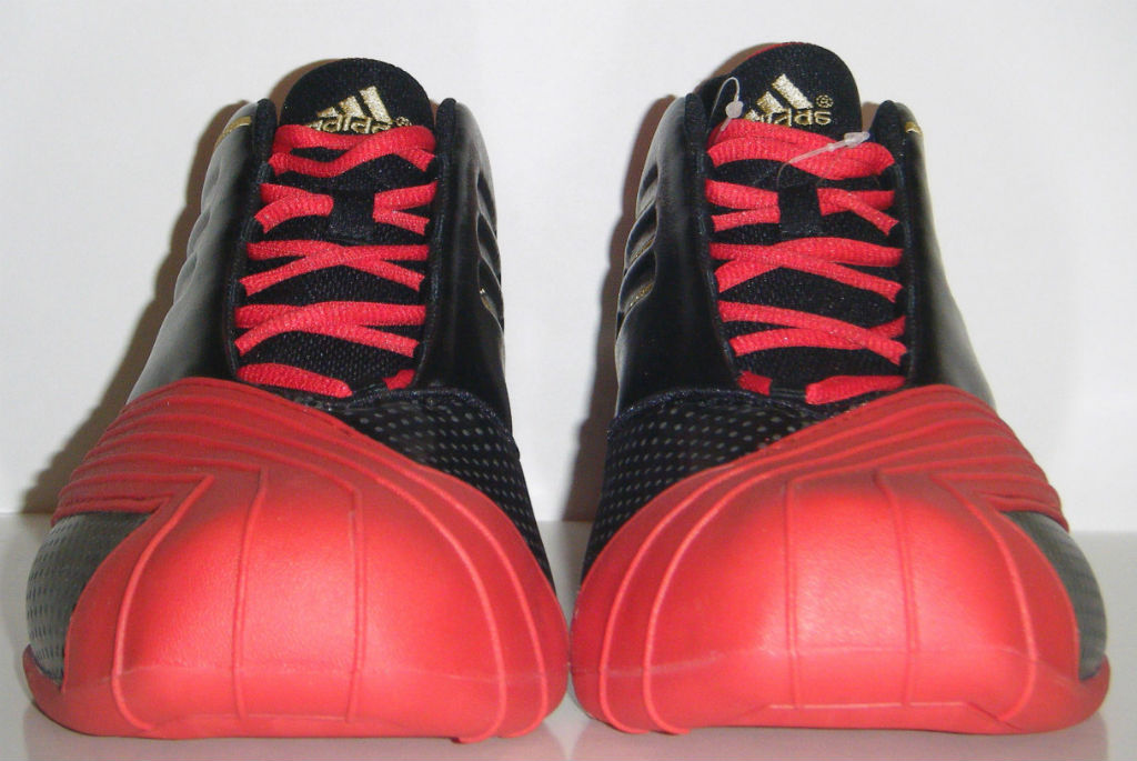 adidas TMAC 1 Black Red Gold (4)