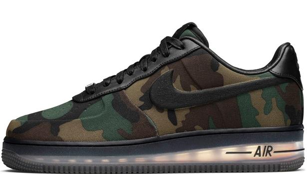Nike Air Force 1 Low Max Air VT QS Black/Black
