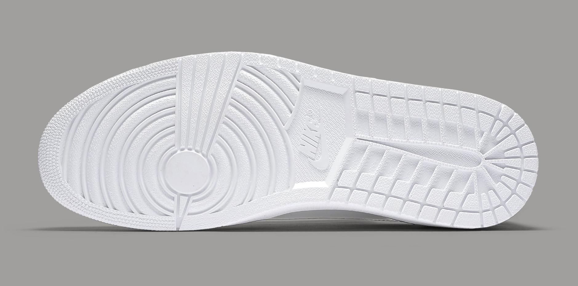 a42d2d334e89d4 Image via Nike Silver Air Jordan 1 Low 852549-003 Sole