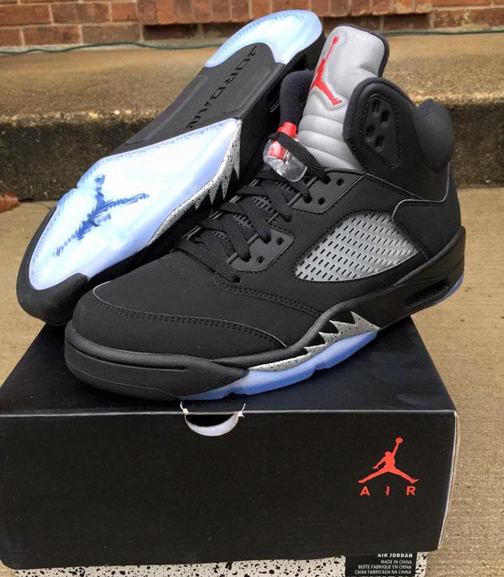 promo code 61765 77ab7 Nike Air Jordan 5 Metallic 845035-003 (1)