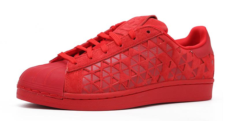 red shell toe adidas