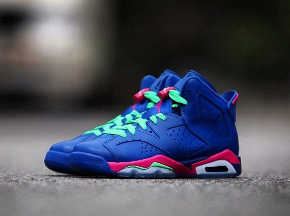 quality design 9f181 ff210 New Images of The 'Game Royal' Air Jordan 6 Retro GS | Sole ...