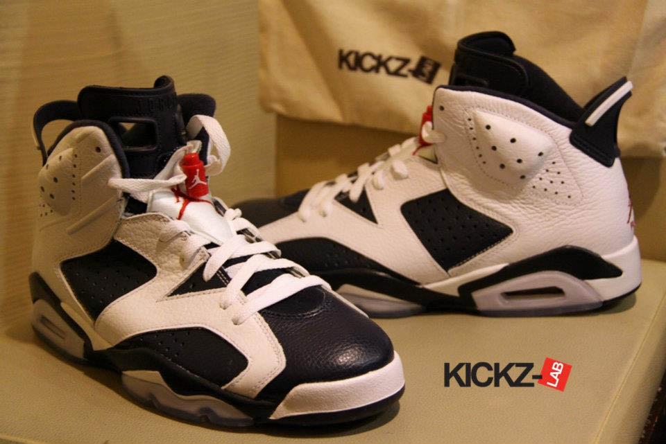 Air Jordan Retro 6 Olympic 2012
