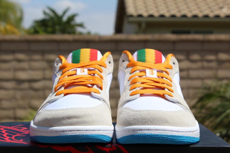 online store 8f1ca b4c73 Air Jordan 1 Low City Pack - Los Angeles | Sole Collector