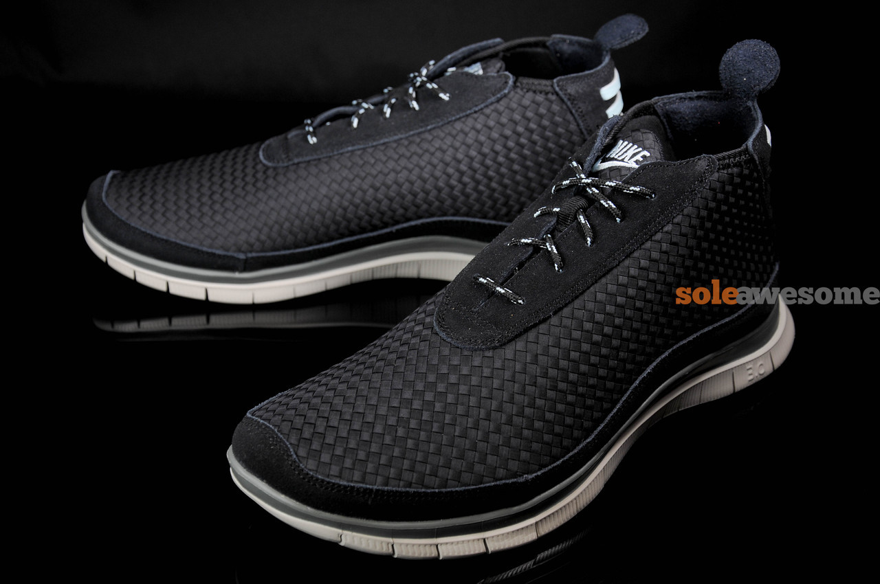 Nike Free Chukka Black Teal Grey