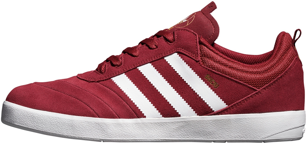 adidas Suciu Adv Collegiate Burgundy/White-Gold Metallic