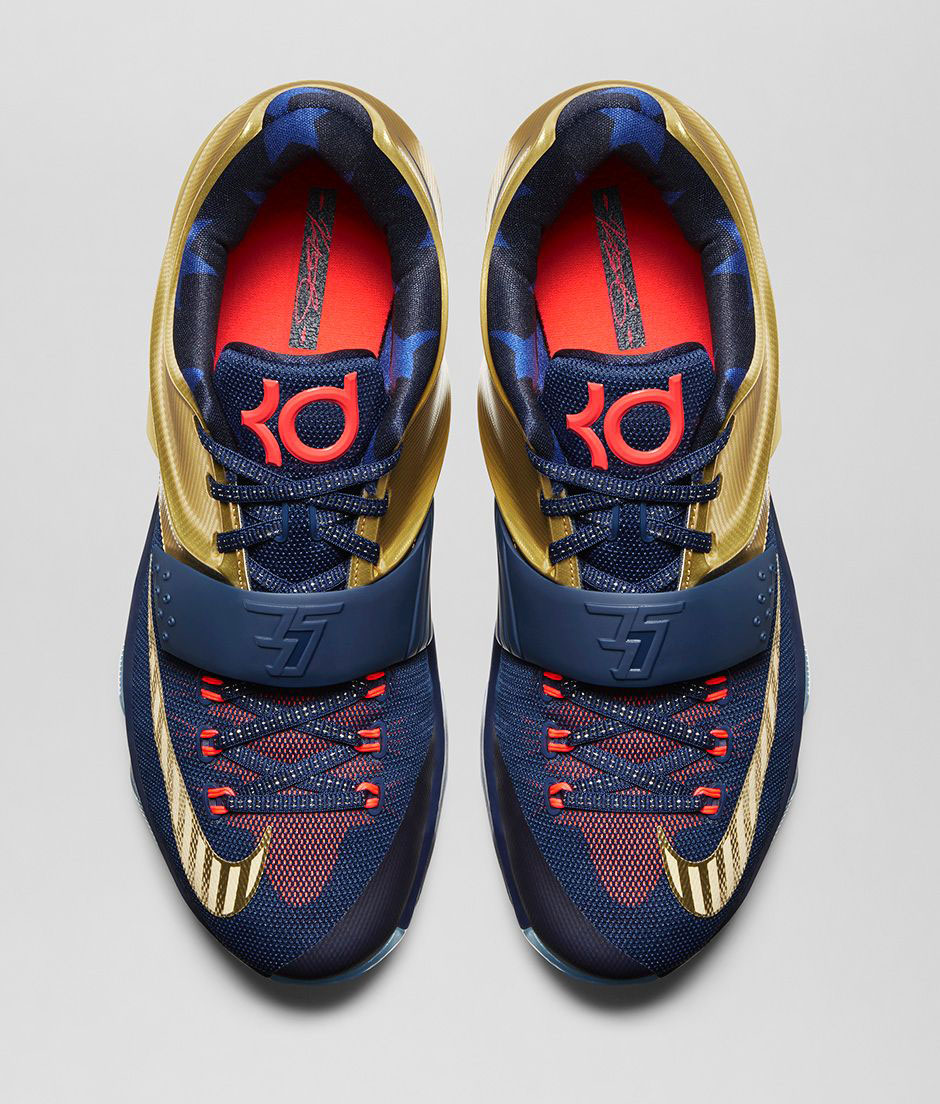 1f288d578281 Nike KD 7 Gold Medal Release Date 706858-476 (6)