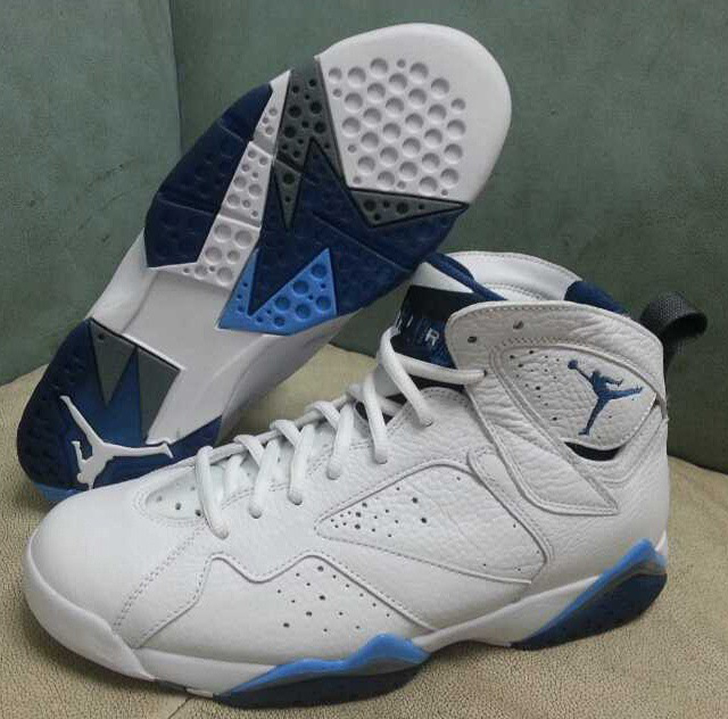 87cad0a4e21fa1 Another Look at the 2015  French Blue  Air Jordan 7 Retro