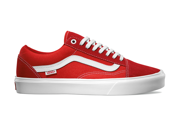 Vans LXVI Old Skool Lite Red