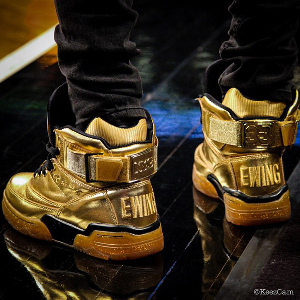 Patrick Ewing Shoes Brown