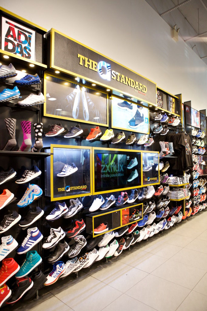 adidas & Foot Locker Open The a Standard