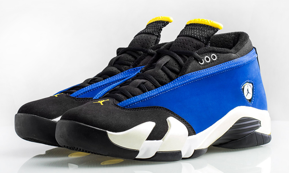 quality design a3a9a 499a7 The 'Laney' Air Jordan 14 Retro Low Releases Soon | Sole ...