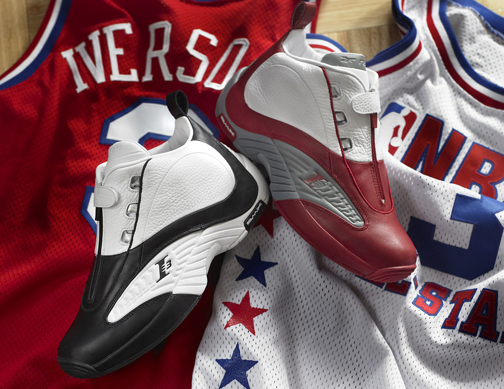Reebok Answer IV 2012 White Black (7)