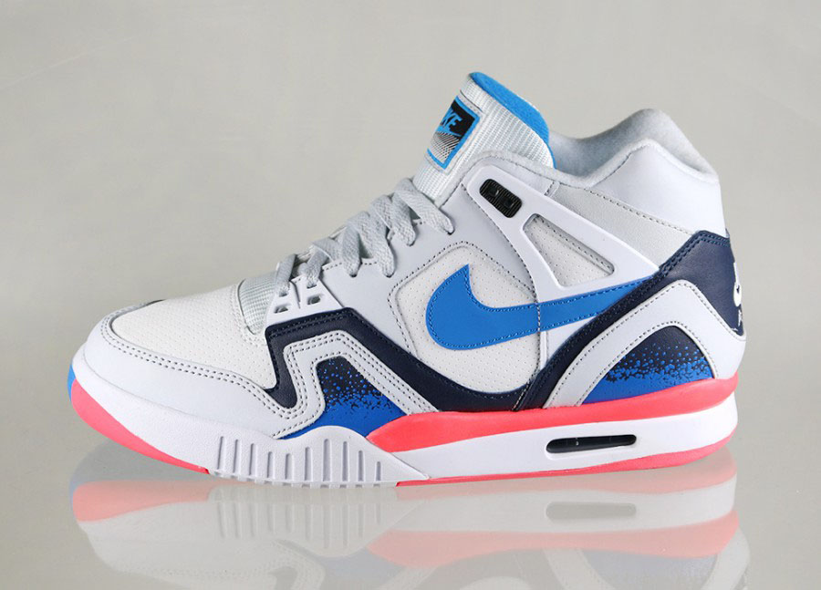 Nike Air Tech Challenge II White/Photo Blue-Pure Platinum-Metallic Navy (1)