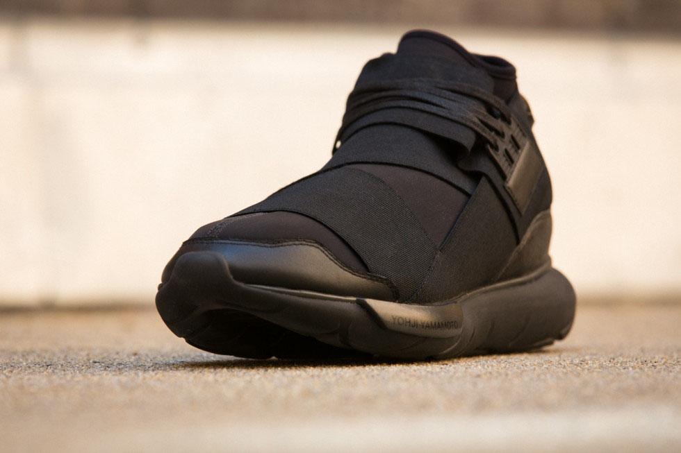 cf4efad46 adidas Y-3 Qasa High in All Black