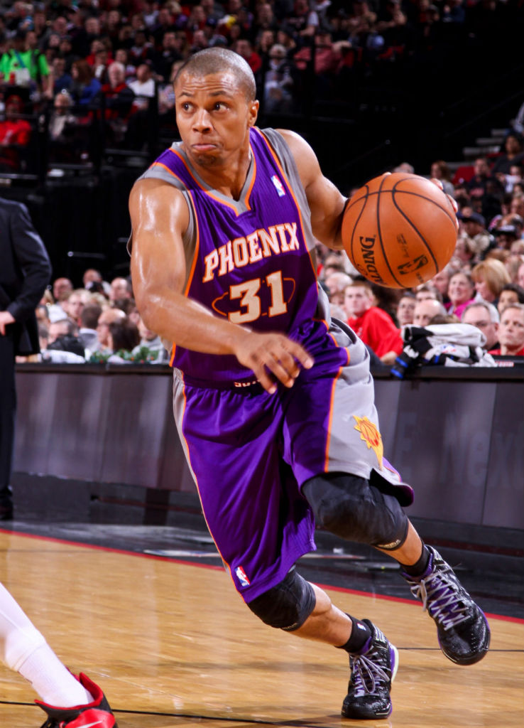 Sebastian Telfair wearing adidas adizero Crazy Light 2 Nightmare